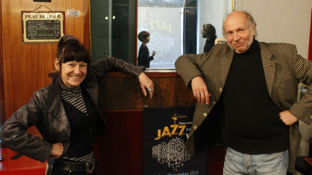 Nini Dogskin et François Billard
