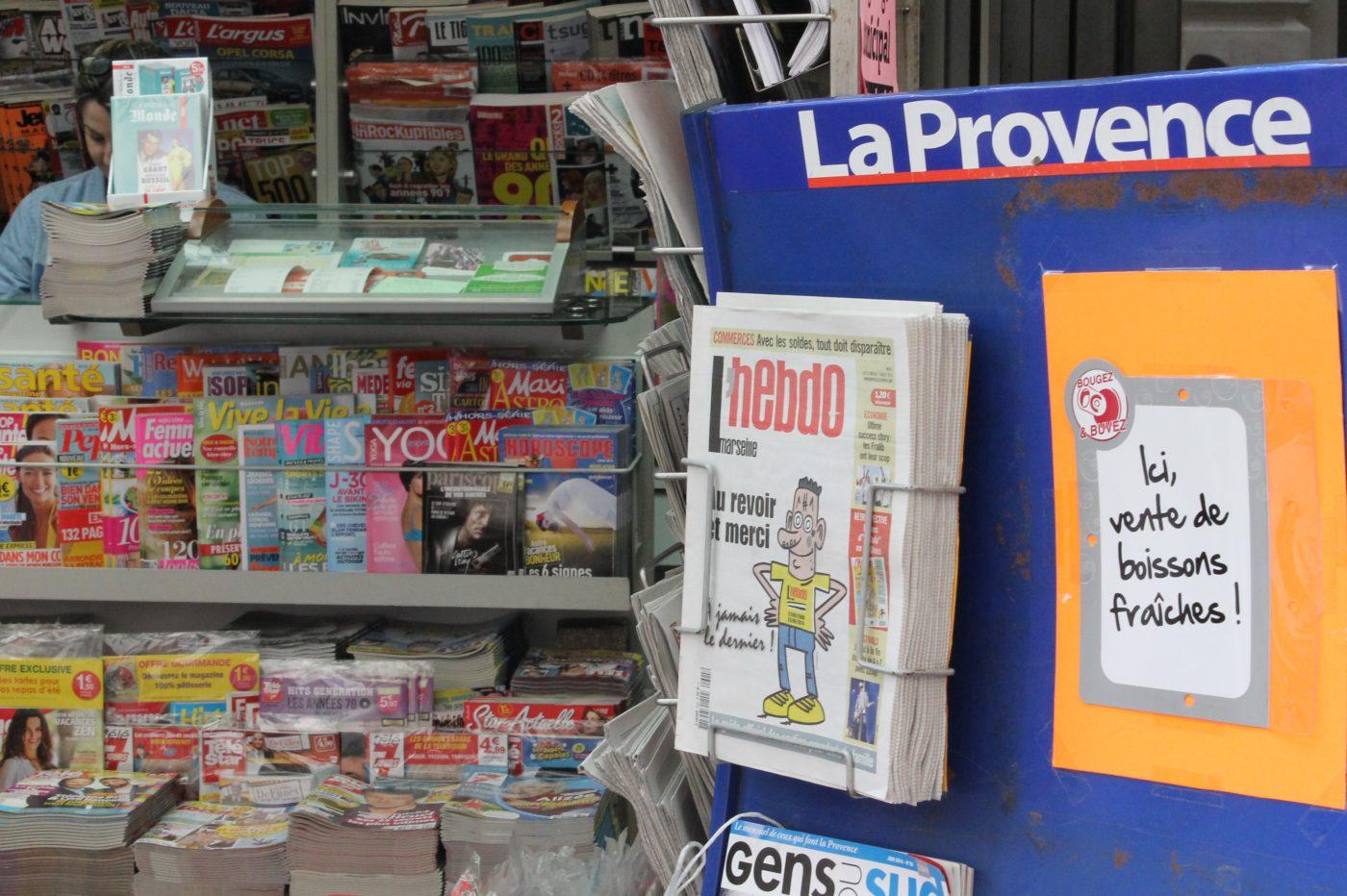 Marseille l 39 hebdo se fait sortir de la provence marsactu - Le journal de la provence ...