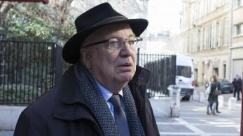 Jean-Pierre Maggi à la pause de midi au tribunal – Photo Julia Rostagni