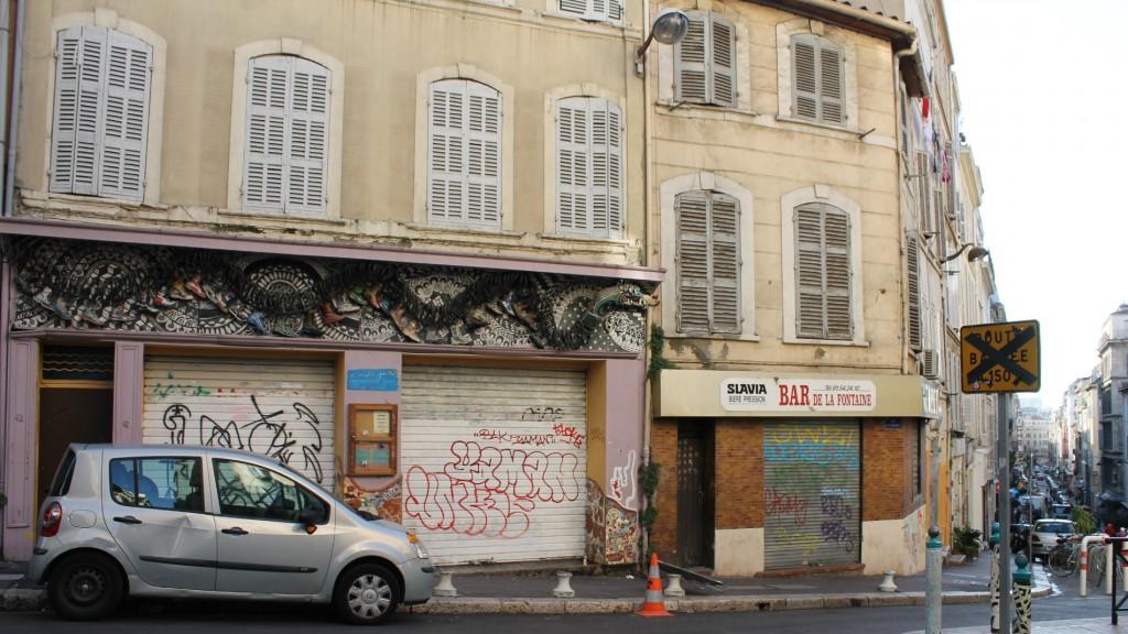 Le local du Mille-Pattes au moment de sa fermeture à l'automne 2014.