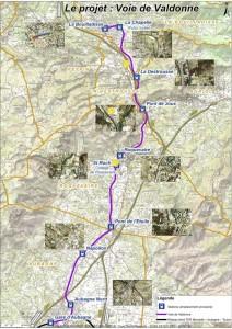 Carte issue d'un dossier publié sur le site de La Bouilladisse.