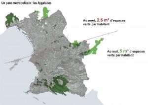 Extrait d'une présentation de l'urbaniste François Leclercq, désigné pour superviser l'extension d'Euroméditerranée.