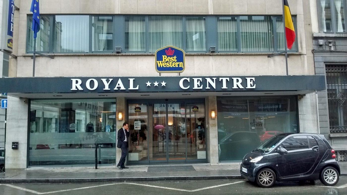 L'hôtel Royal centre , rue Royale à Bruxelles, propriété de Dominique Tian.