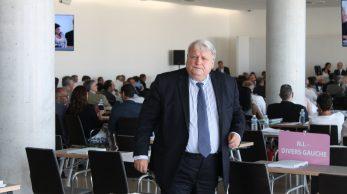 François Bernardini au conseil de la métropole le 30 juin 2016.