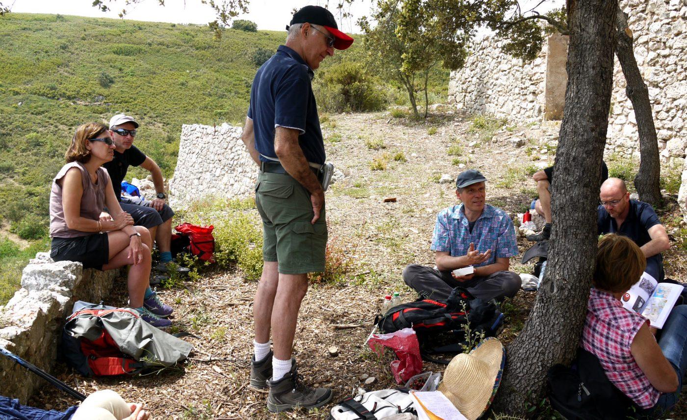 Sur les traces du camp militaire americain sur le plateau de l'Arbois 7