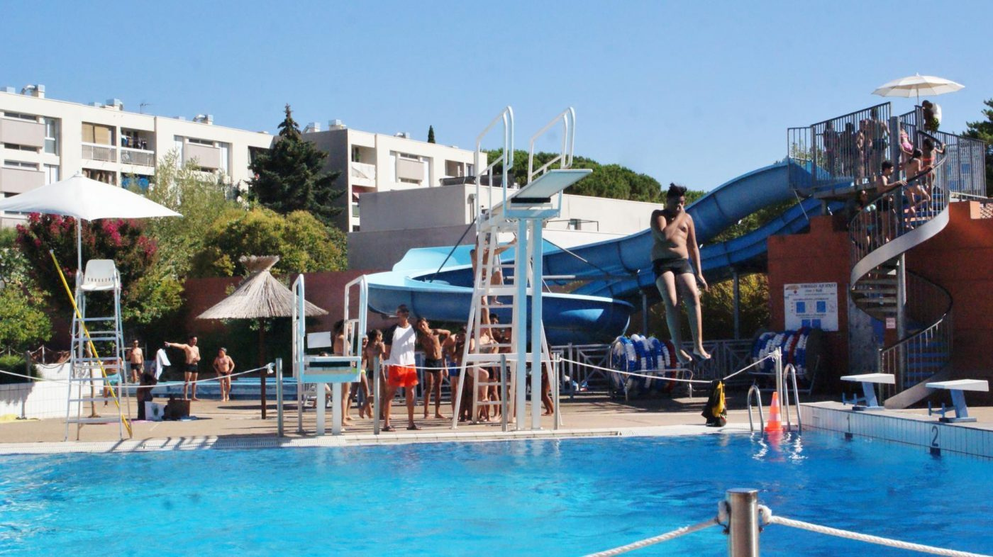 Piscines Et Sites Amenages Avec Installations De Plongeon En
