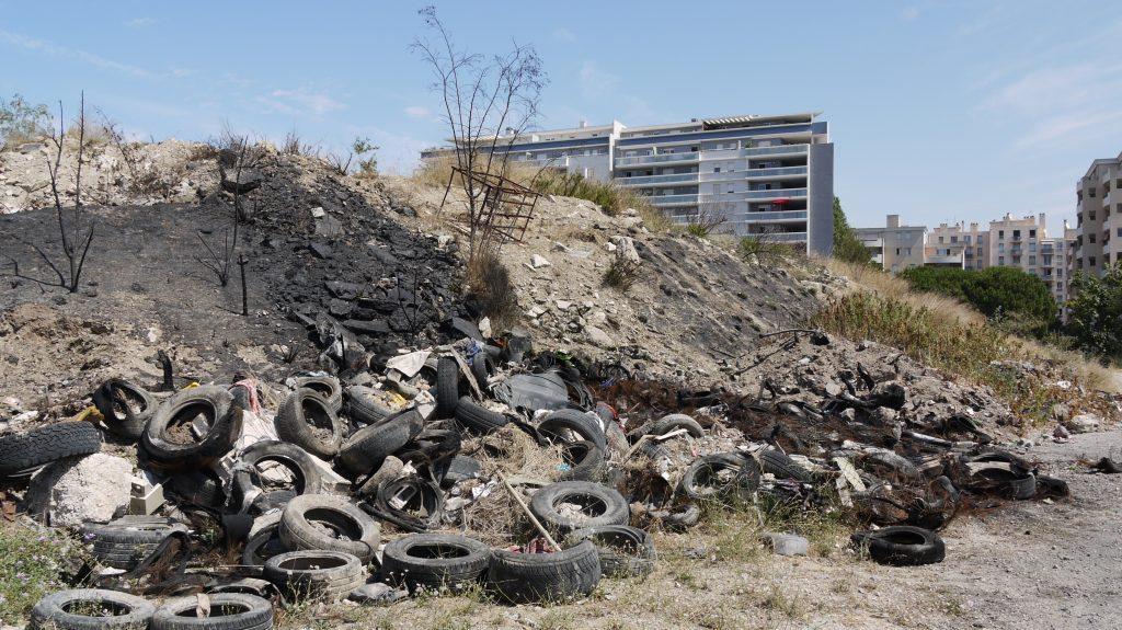 Le site du futur parc présente des traces de pollution.