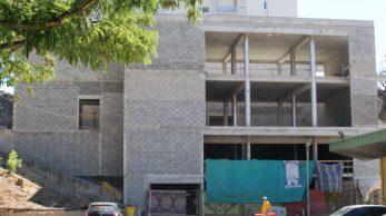 Les travaux de la nouvelle mosquée des Cèdres se font au rythme des donations. (LC)