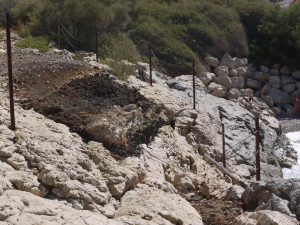 Marseille a mis la tete dans le sable pollue de Samena 3