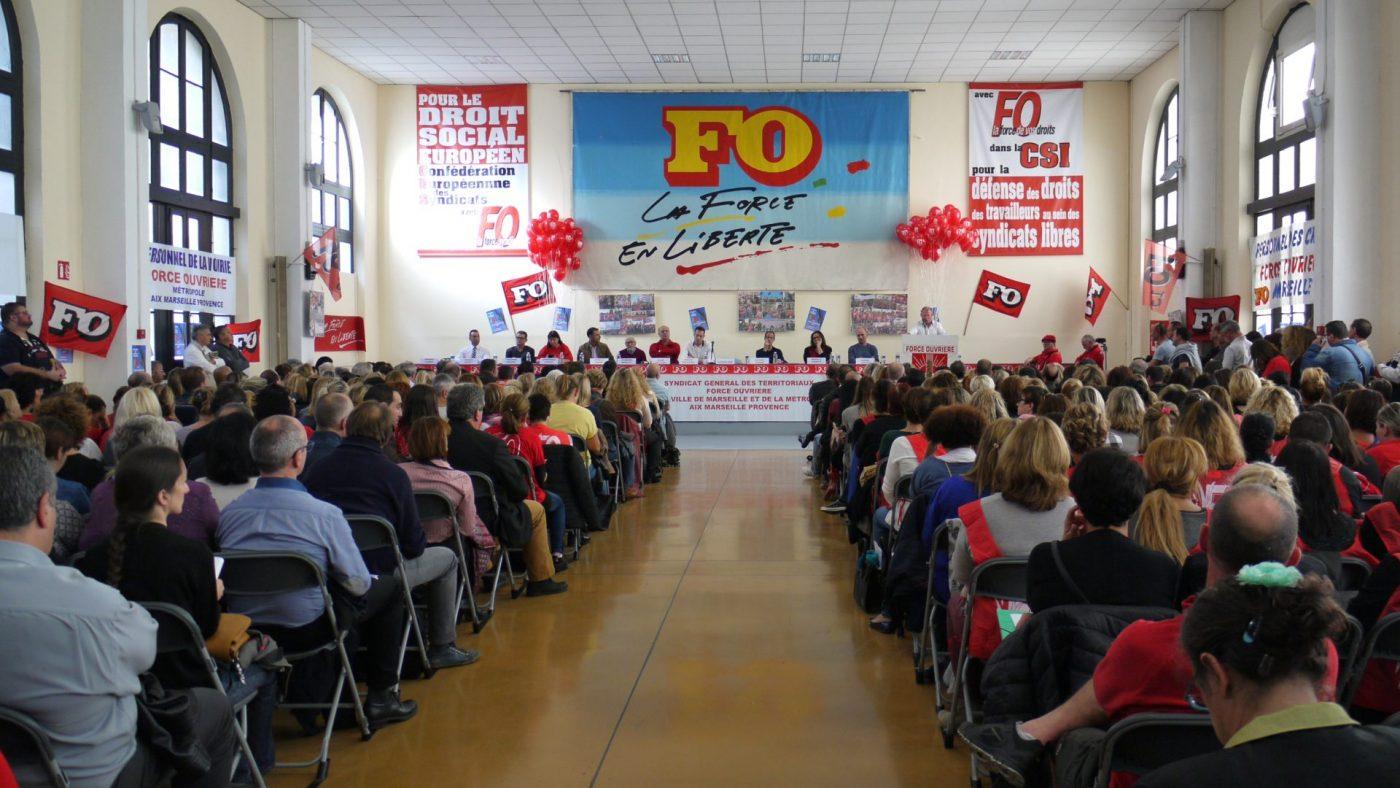 """Force ouvriere veut garder son rang dans la """"plus grande metropole de France"""" 1"""