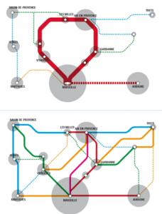"""""""Ring"""" et """"Interpoles"""", deux approches proposées par le livre blanc des transports."""