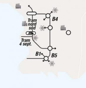 """""""Tram 4 sept."""", un projet désormais intégré à la réflexion."""