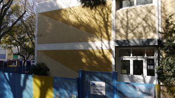 L'école Saint-André-Barnier au pied de la Castellane. (LC)