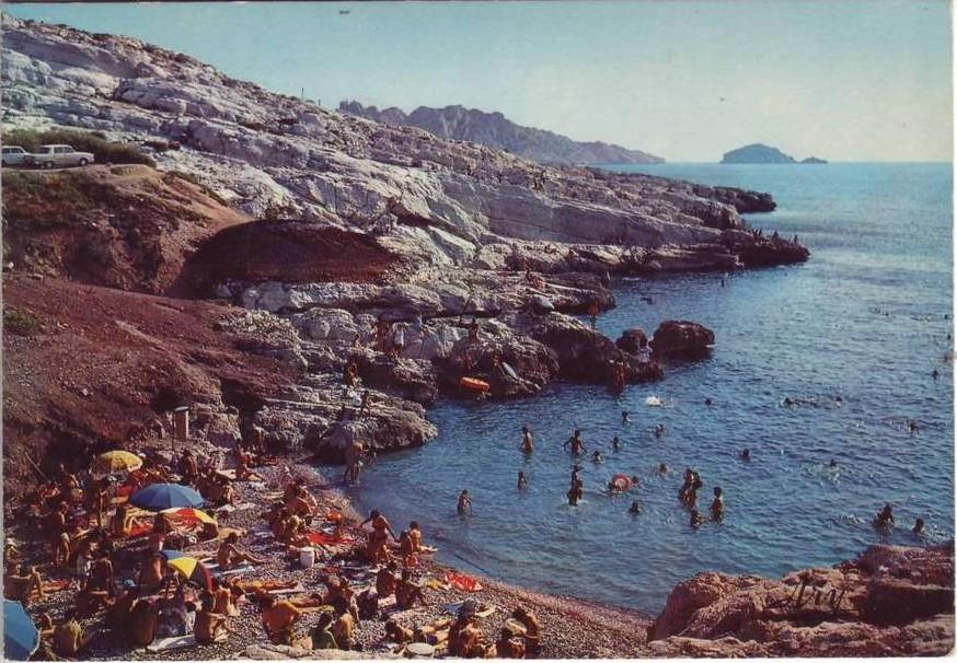 Une vieille photographie de Samena ou les scories sont bien visibles (source forum de l'association Calancoeurs)