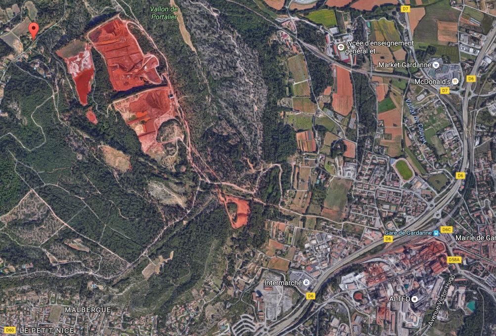 L'Etat se penche sur l'impact sanitaire de l'arrivee massive des boues rouges a Mange-Garri 2