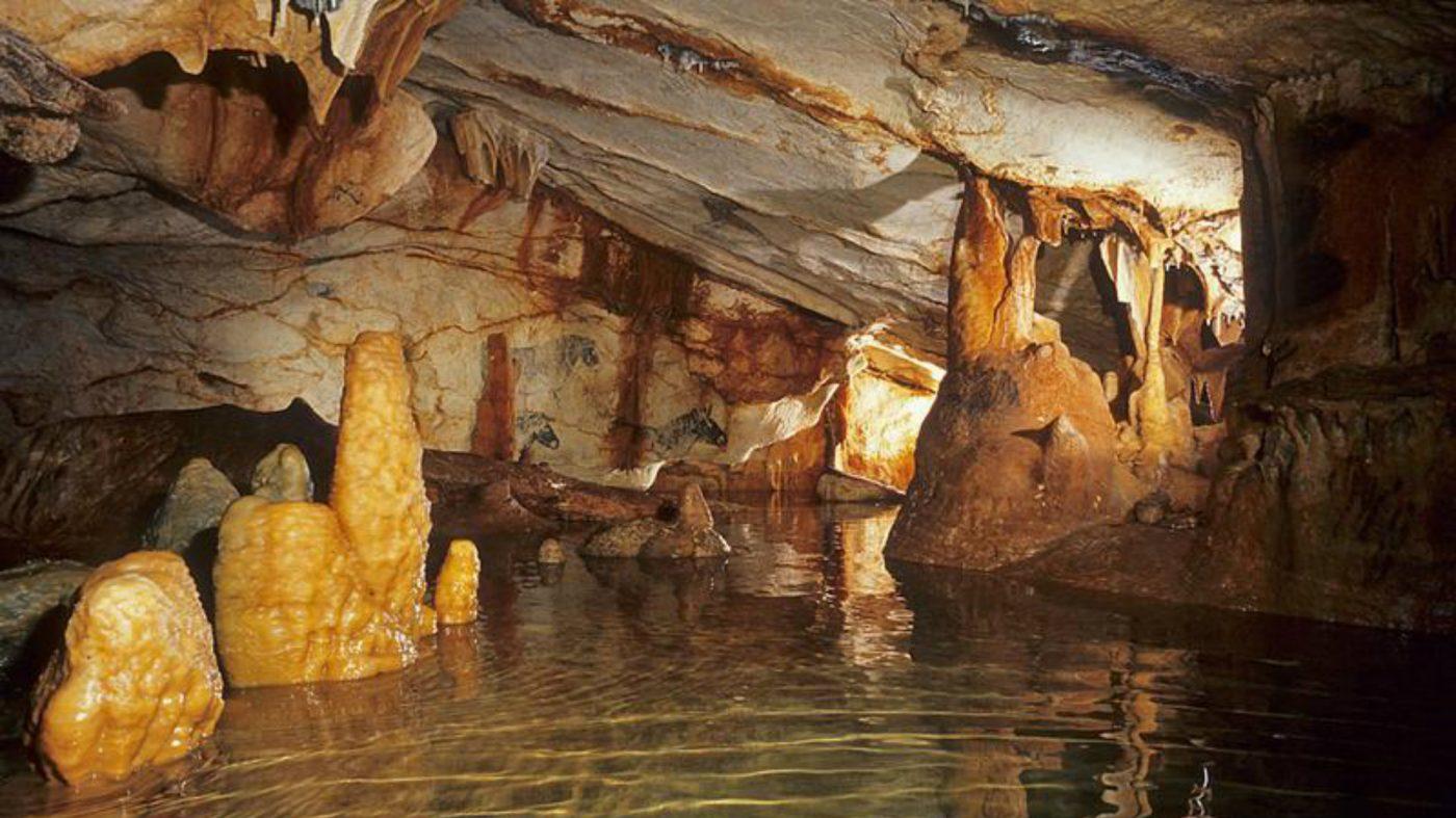 Plong e dans la grotte cosquer et ses innombrables dessins pr historiques marsactu - Coloriage grotte ...
