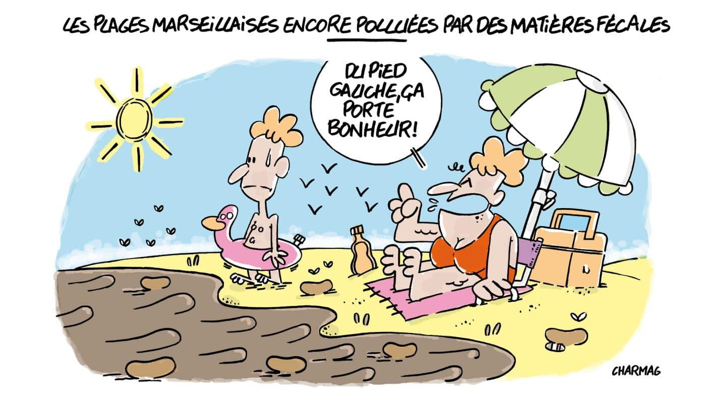Les Plages Marseillaises Encore Polluées Par Des Matières