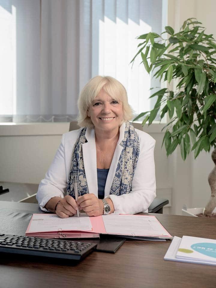 La présidente du pays d'Aubagne Sylvia Barthélémy candidate aux élections municipales