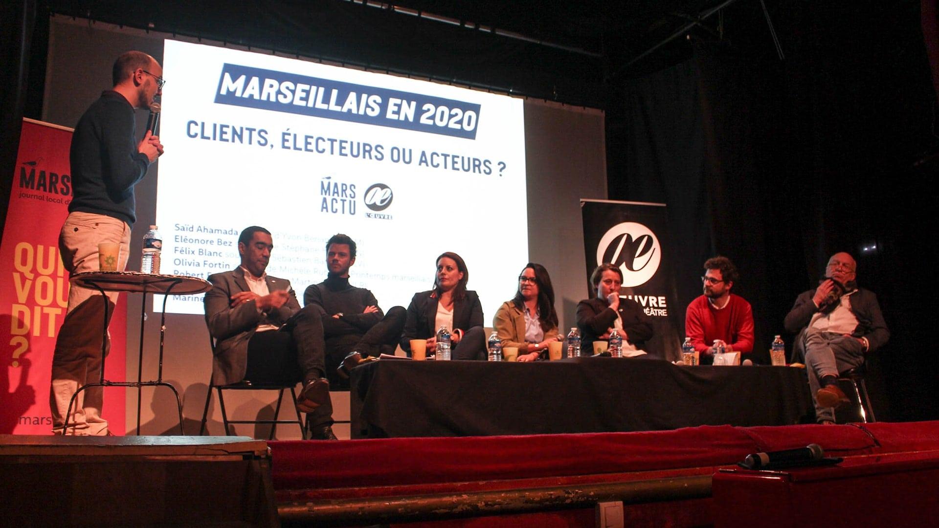 [Notre débat en vidéo] Marseillais 2020 : clients, électeurs ou acteurs ?