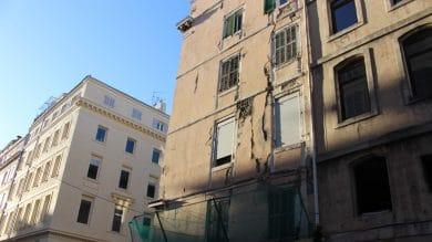 Rue Pythéas, un immeuble en péril menace à nouveau de s'effondrer