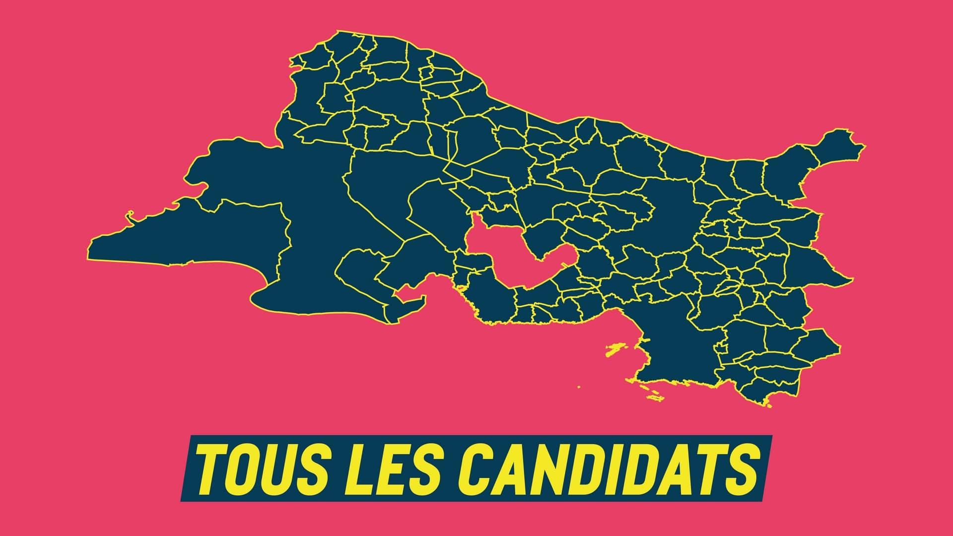 Tous les candidats