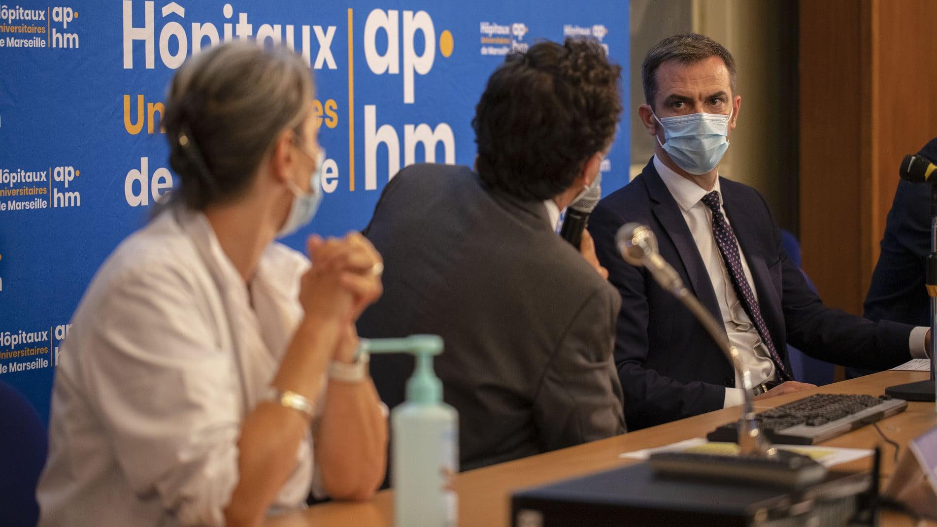 À l'hôpital de la Timone, Olivier Véran jongle avec les colères