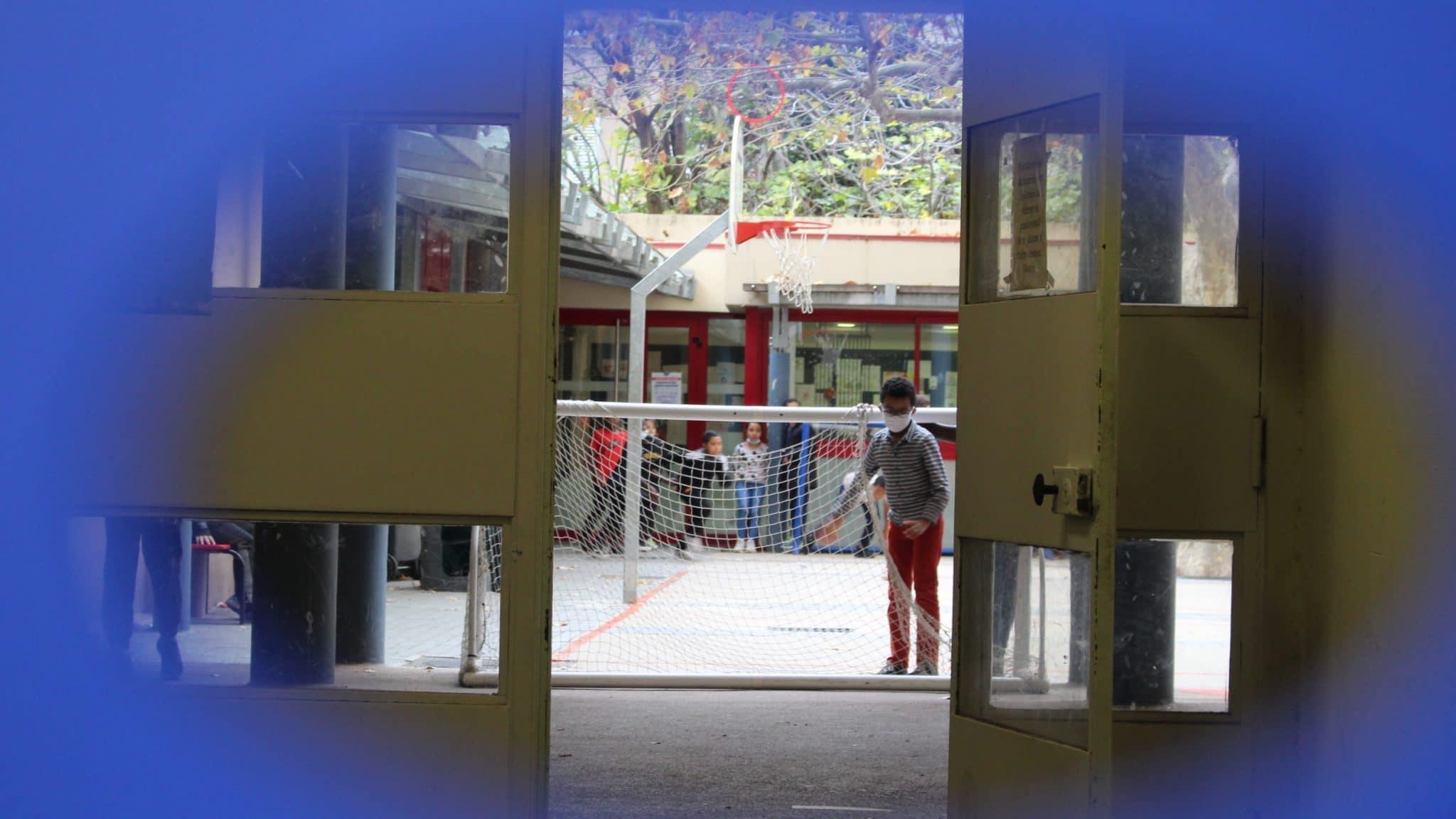 Ma fille, son école maternelle, Roselyne et moi
