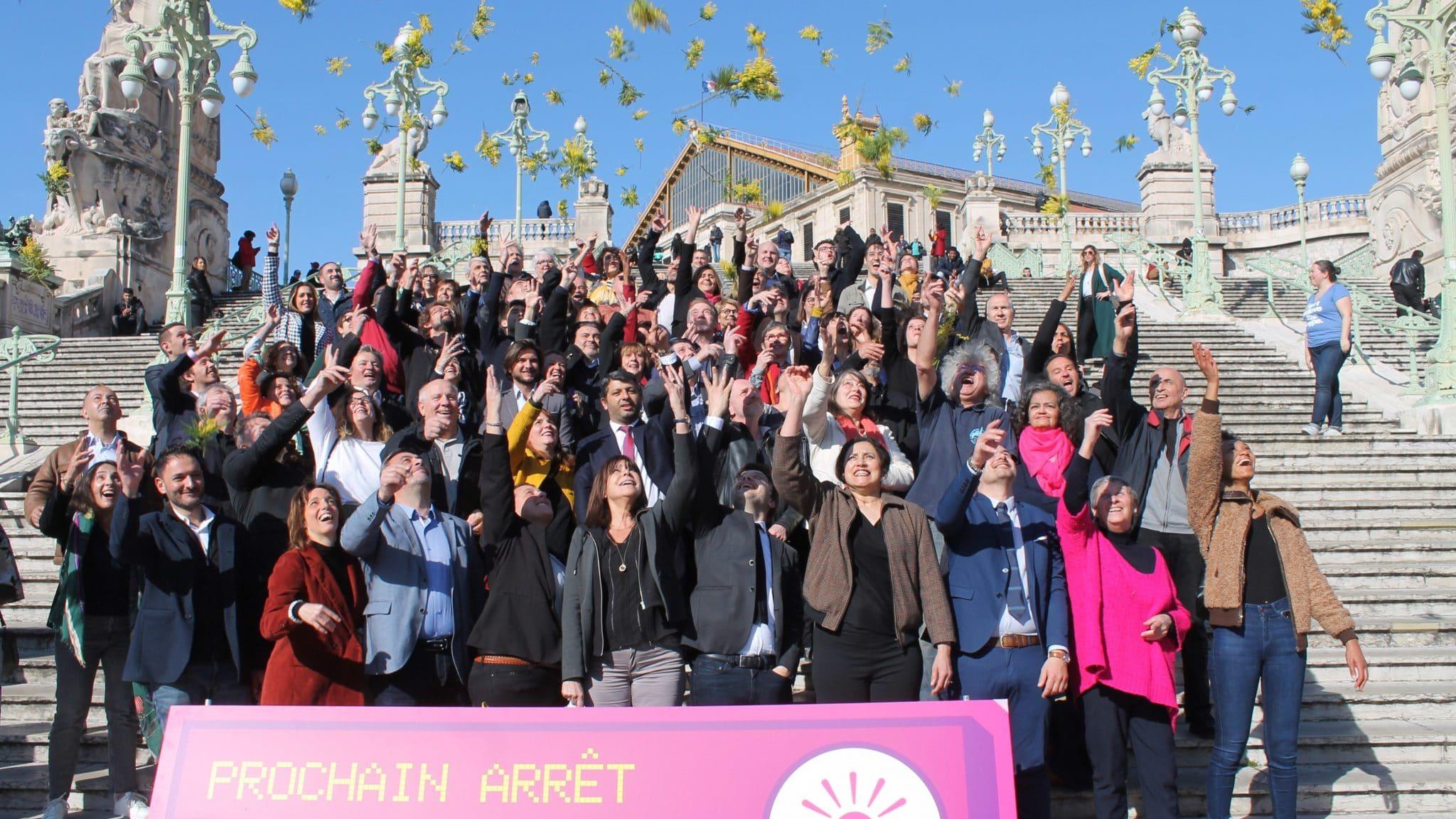 Au Printemps marseillais, les dissidences éclosent aux abords des départementales