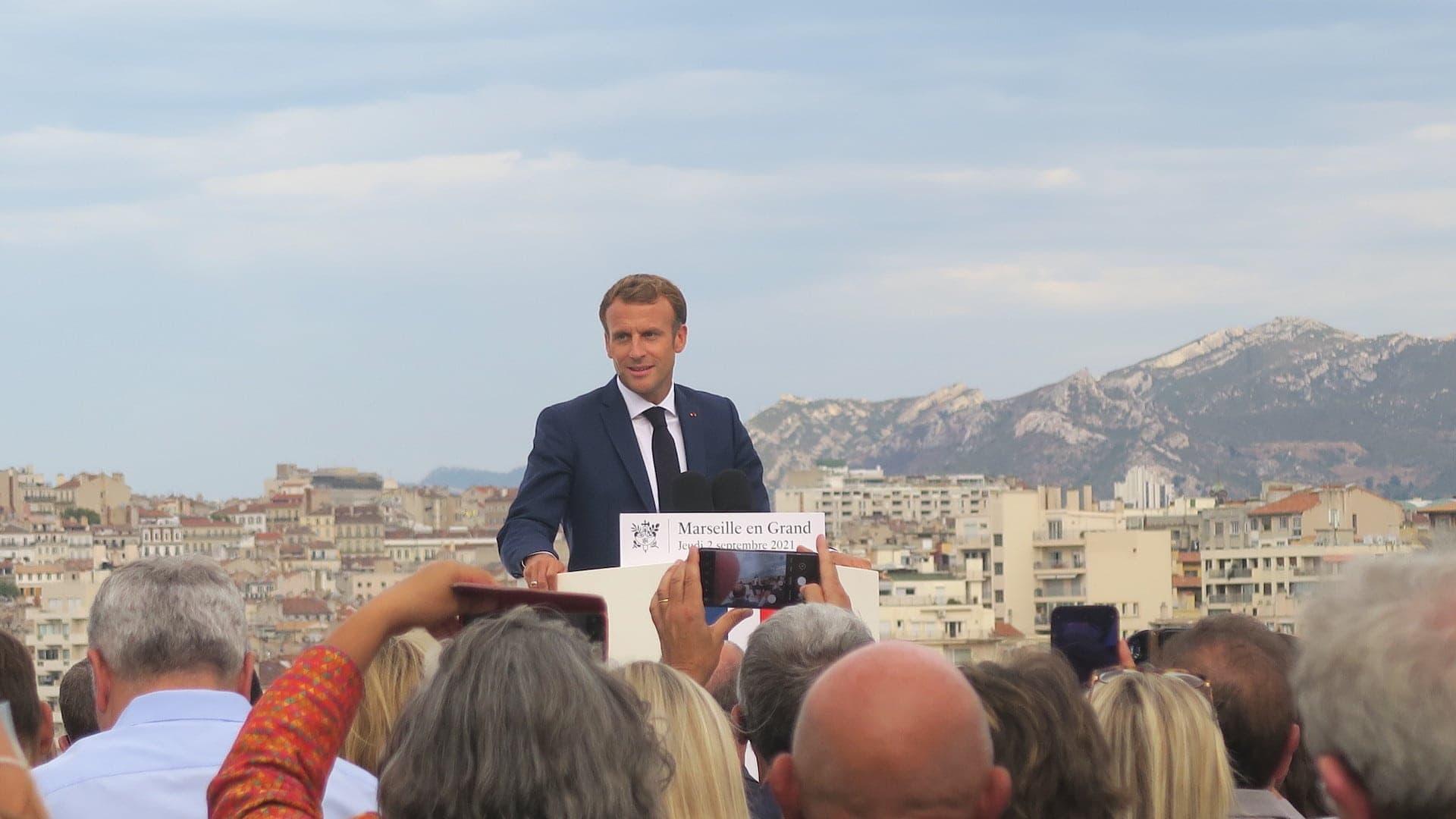 """[En accès libre] Avec notre Macronscope, suivez l'avancée du plan """"Marseille en grand"""""""