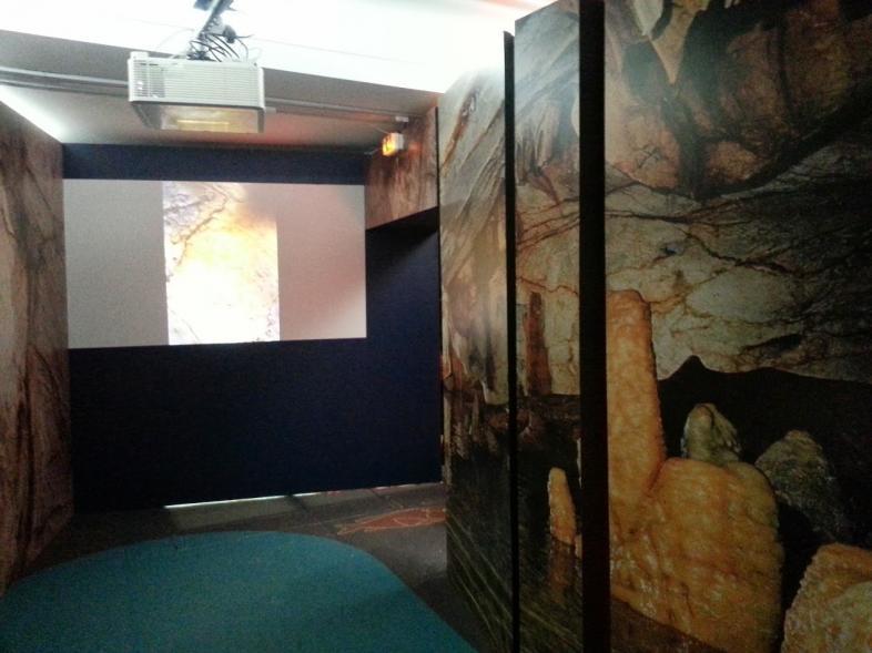 La grotte Cosquer représentée à la Villa Méditerranée en 2014